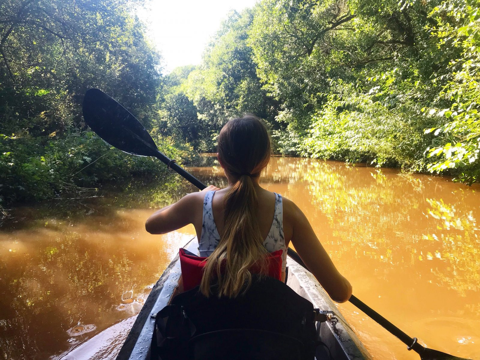 Brecon Beacons kayaking, Monmouthshire and Brecon Canal