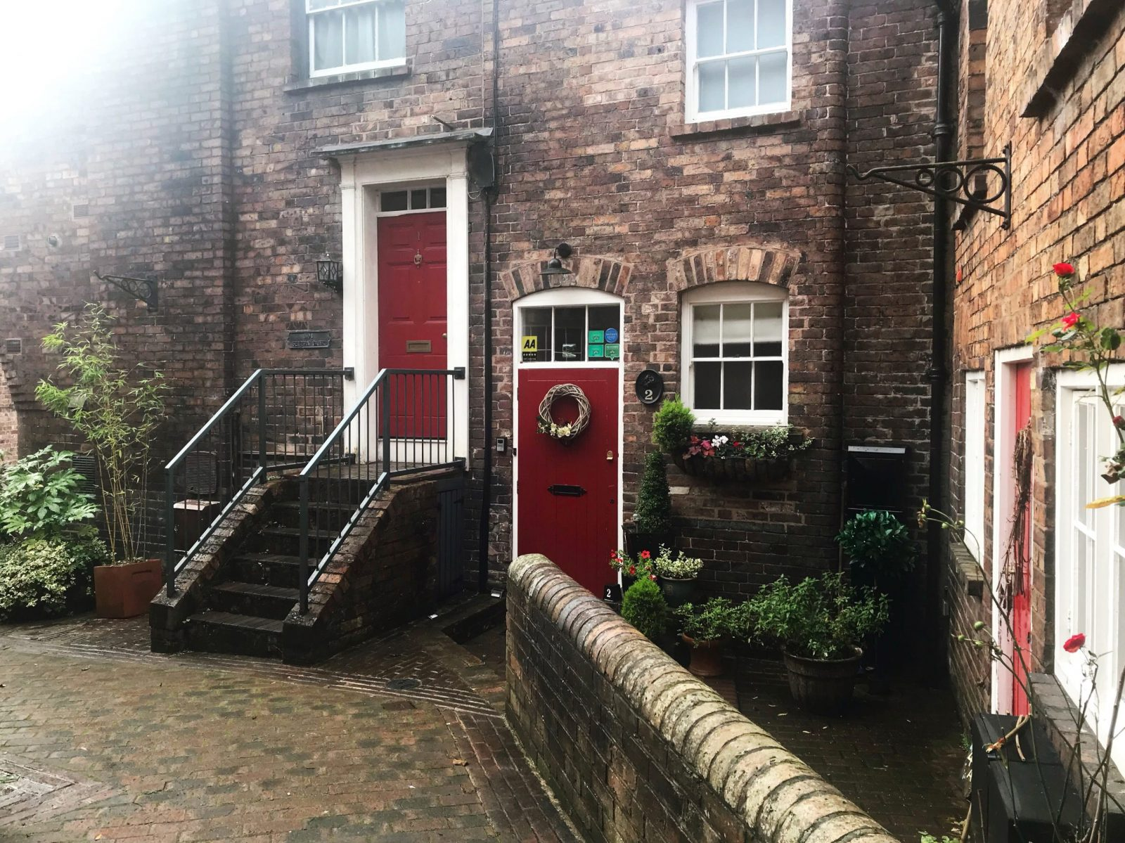Visiting Ironbridge a 3 day itinerary Ironbridge view townhouse