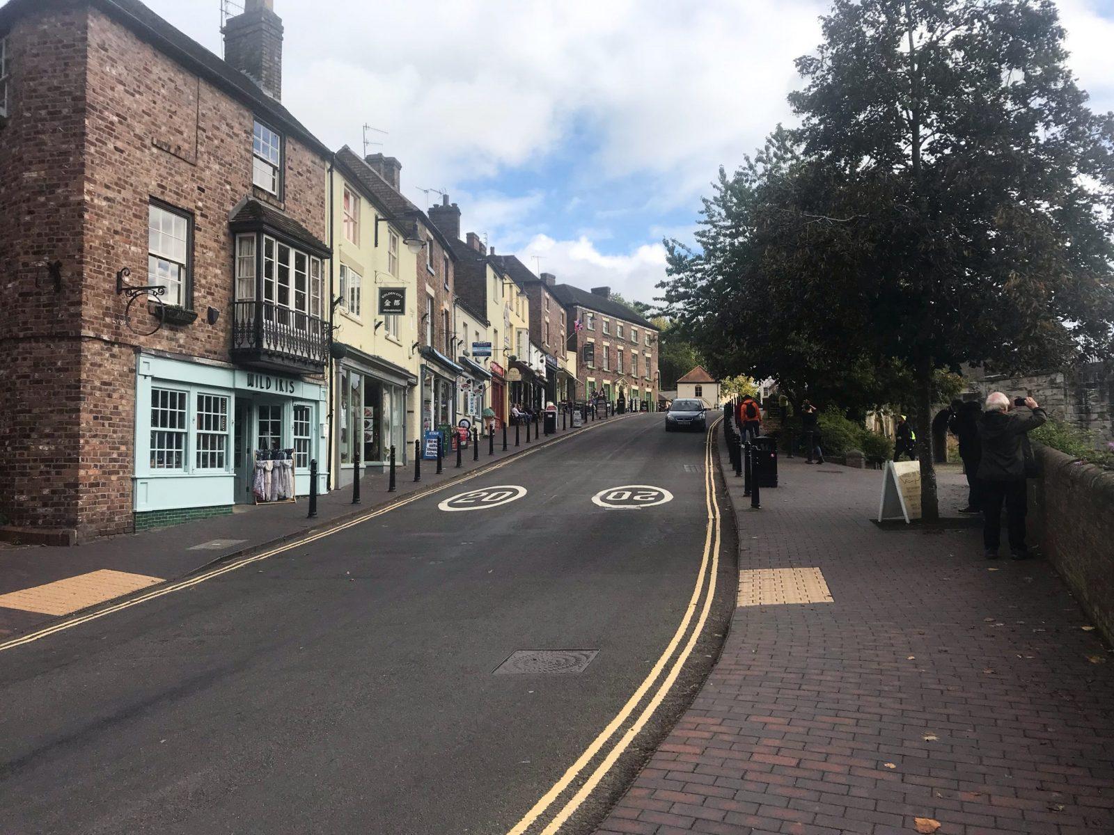 Visiting Ironbridge town centre