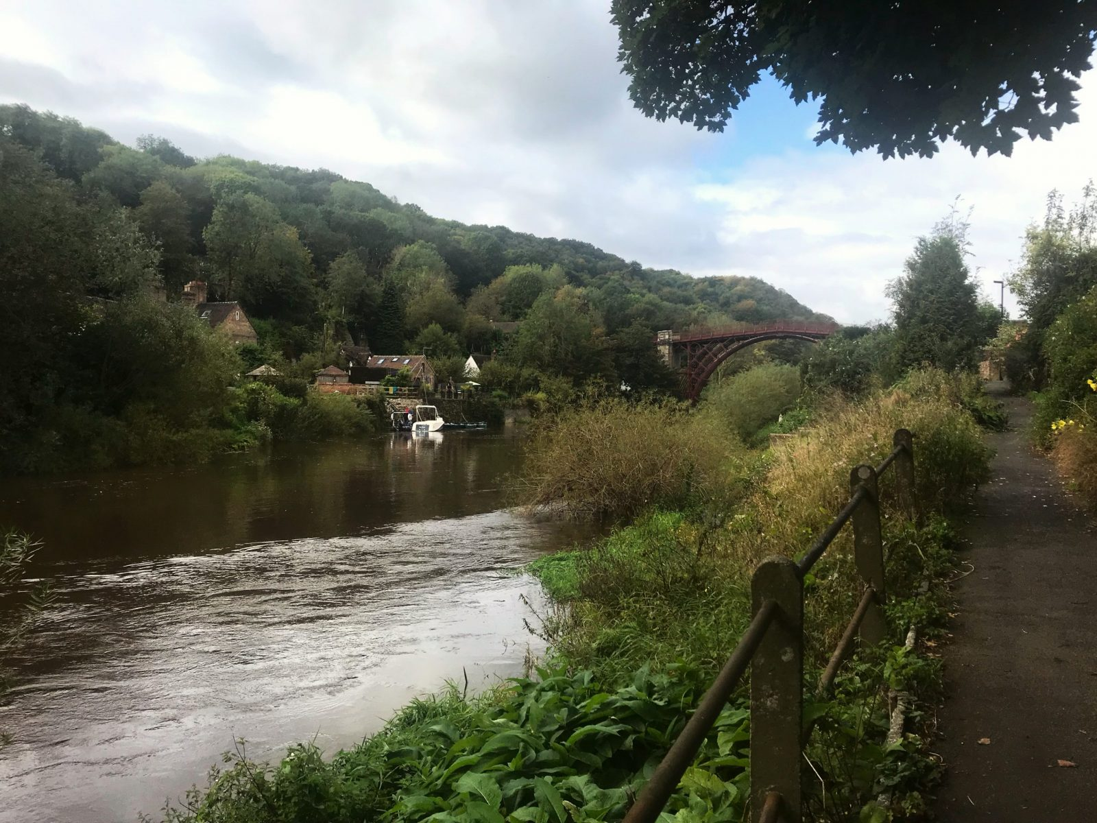 Visiting Ironbridge view