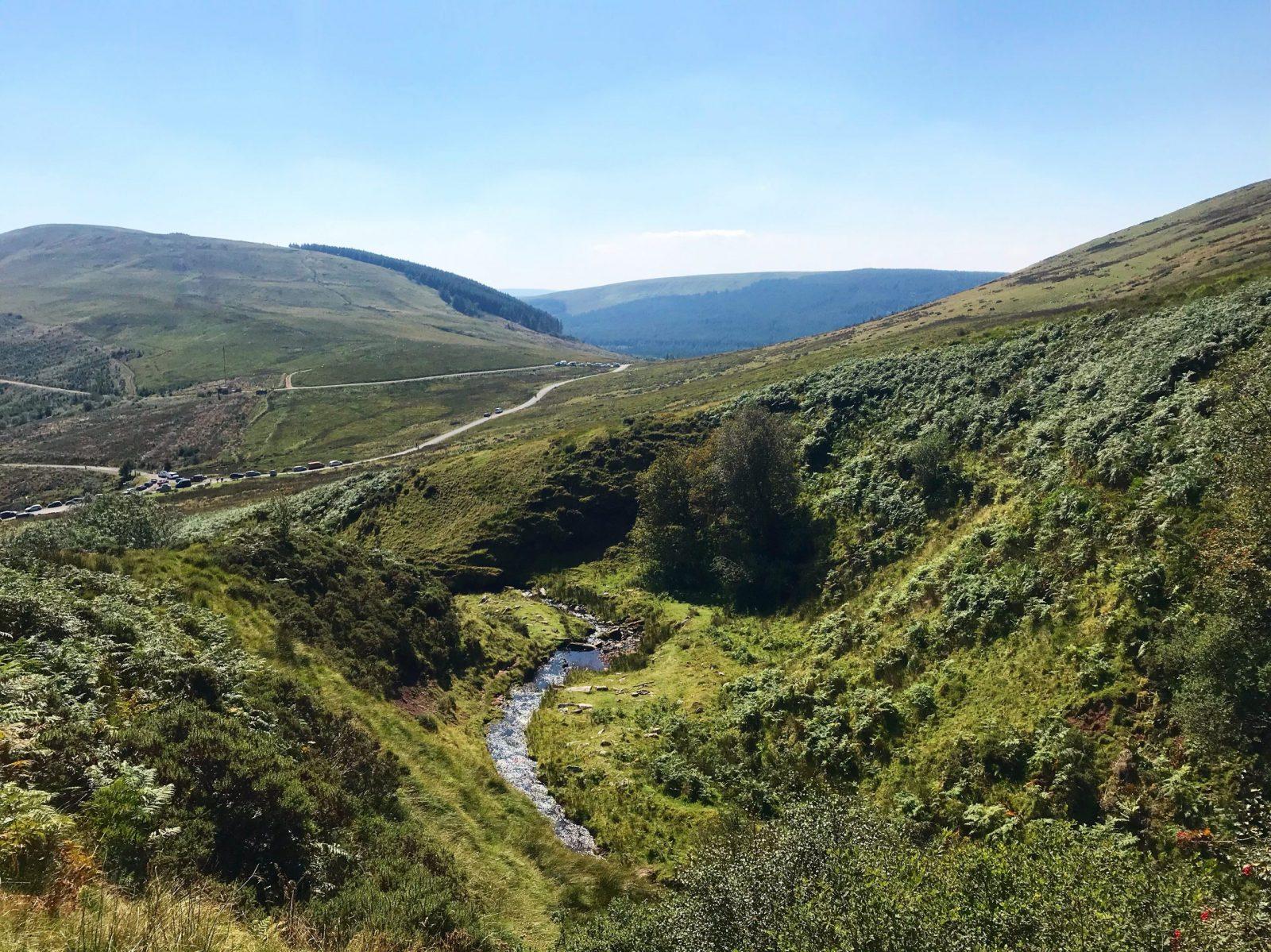 Walking in the Brecon Beacons Talybont Waterfalls