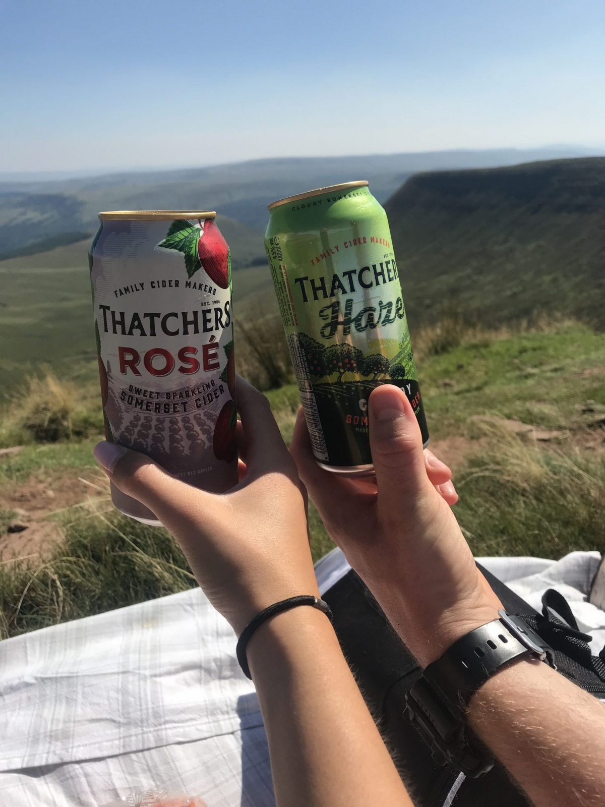 Walking in the Brecon Beacons Thatchers