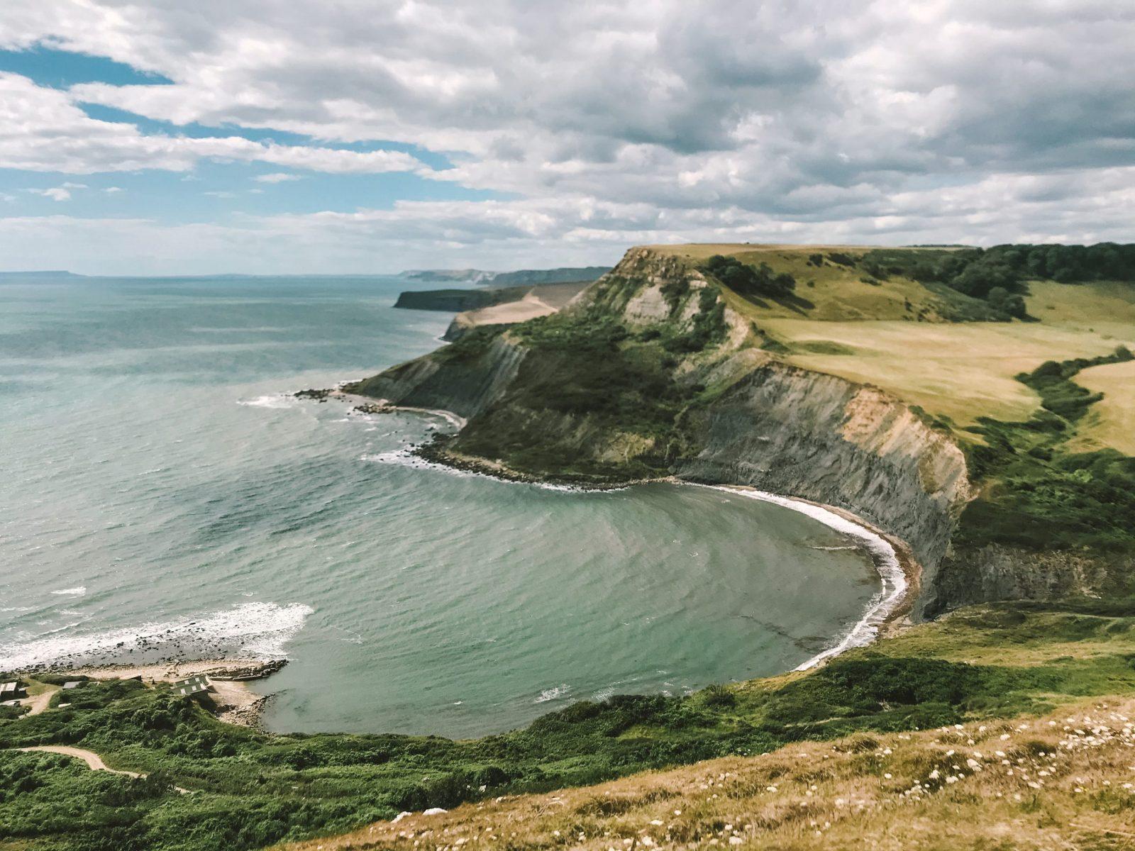 Jurassic Coast circular walks chapmans Pool