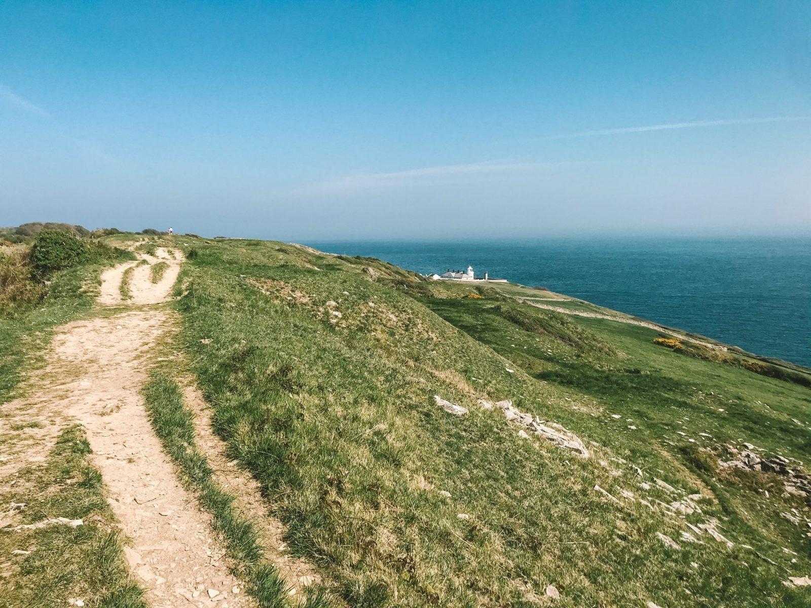 Jurassic Coast circular walks view
