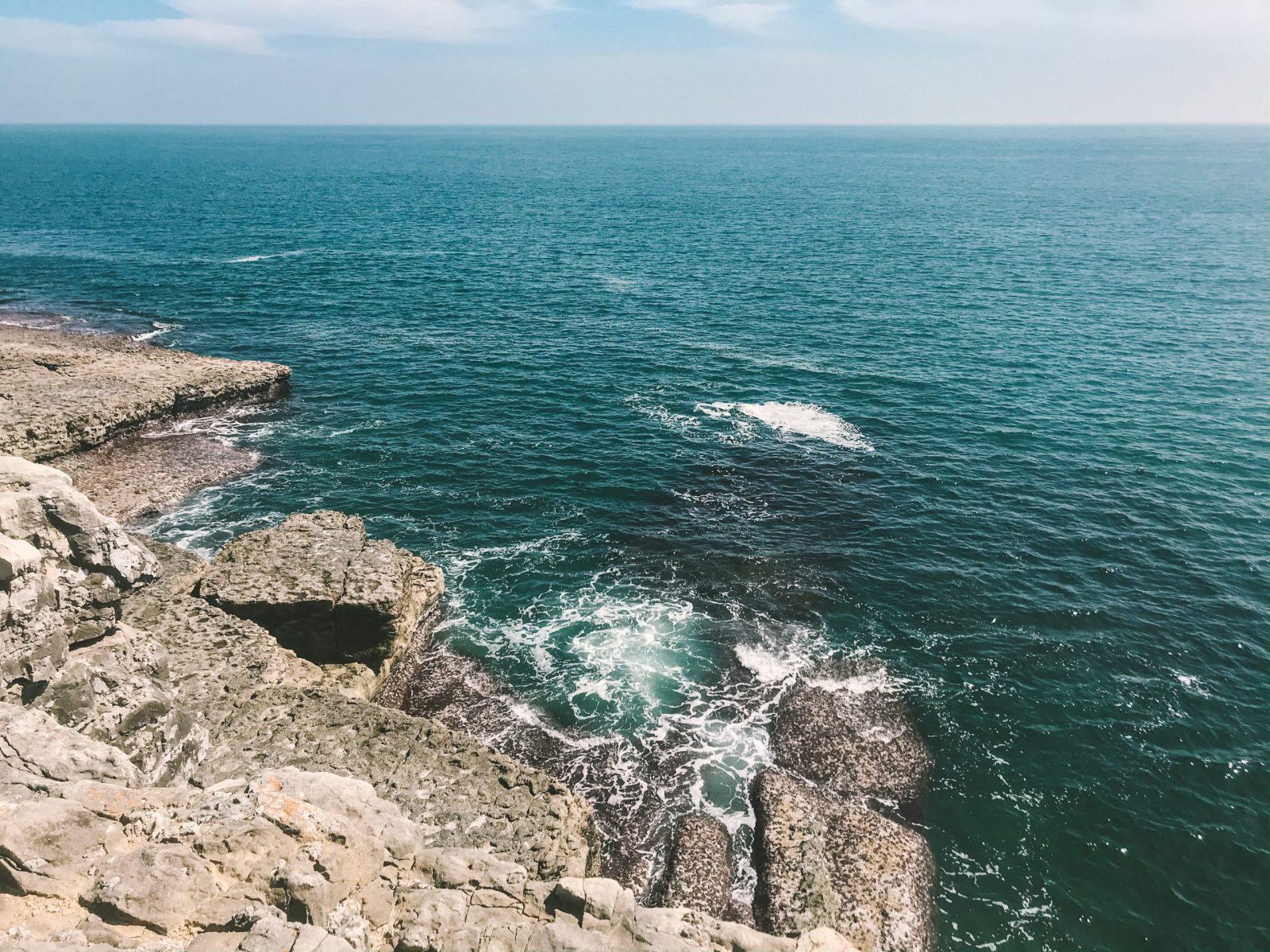 Jurassic coast walk the dancing ledge