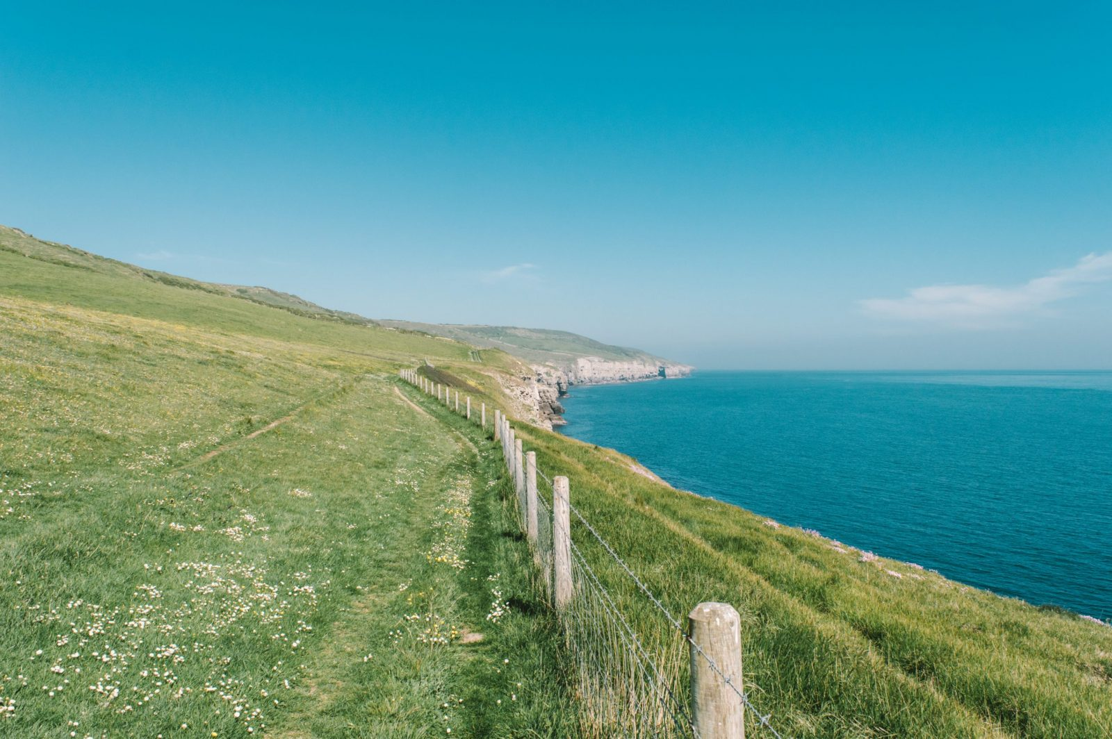 Jurassic coast walk the dancing ledge staycations in the UK