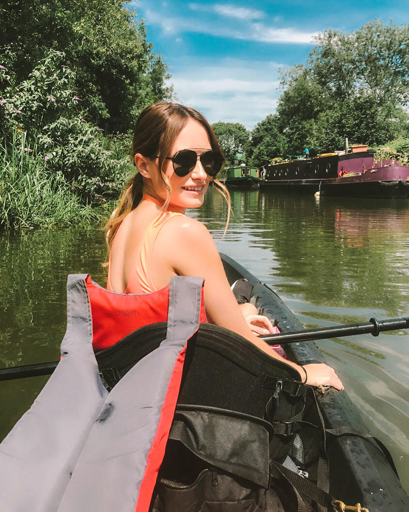 Kayaking in bath the Kennet and Avon canal