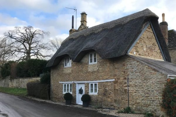 Autumn in the Cotswolds Thatched Cottage