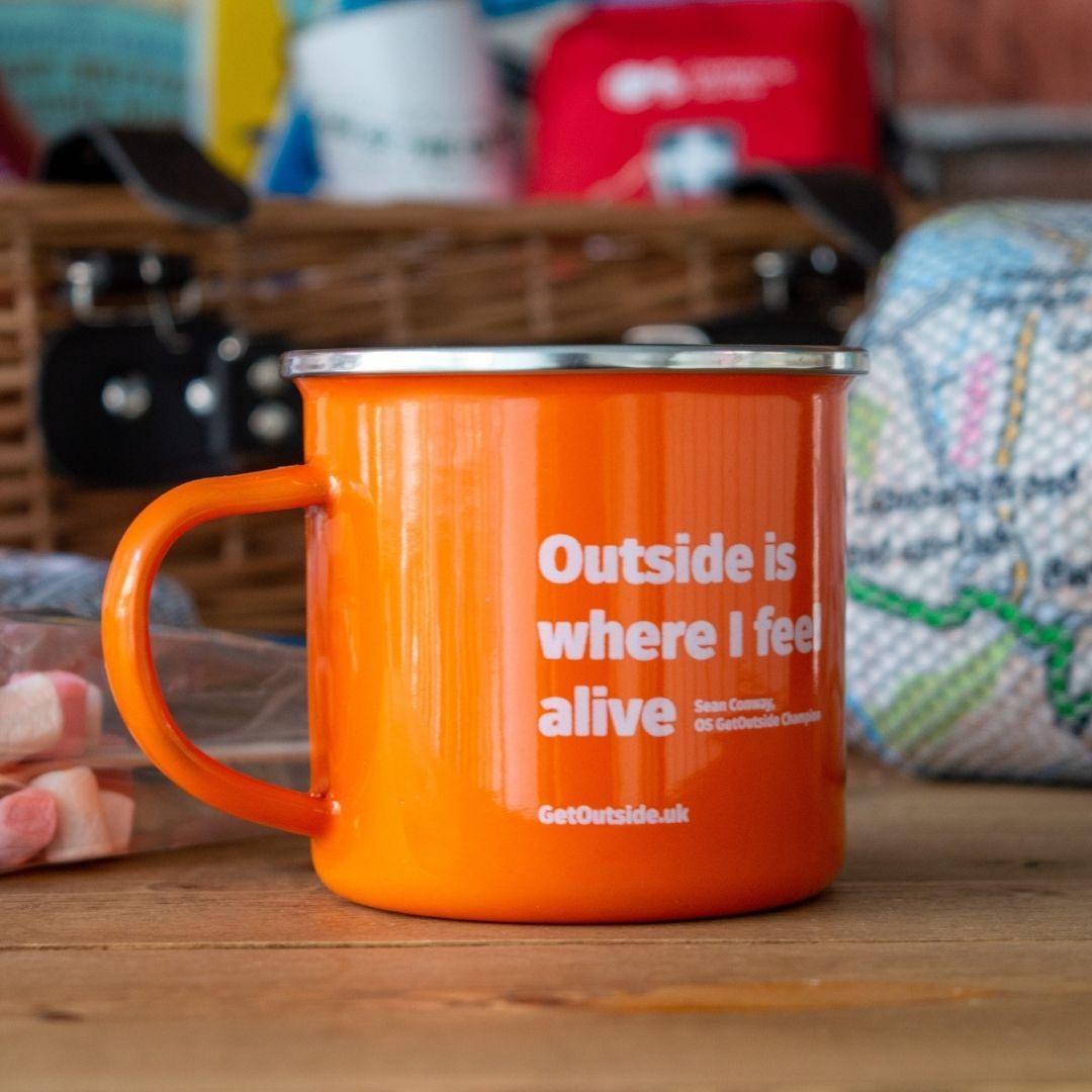 Ordnance Survey Gifts Mug
