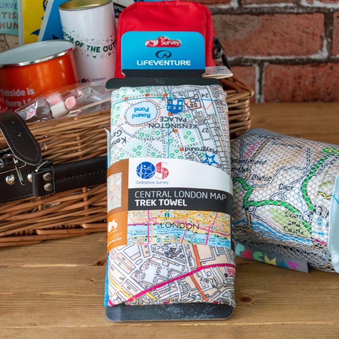 Ordnance Survey Gifts Towel