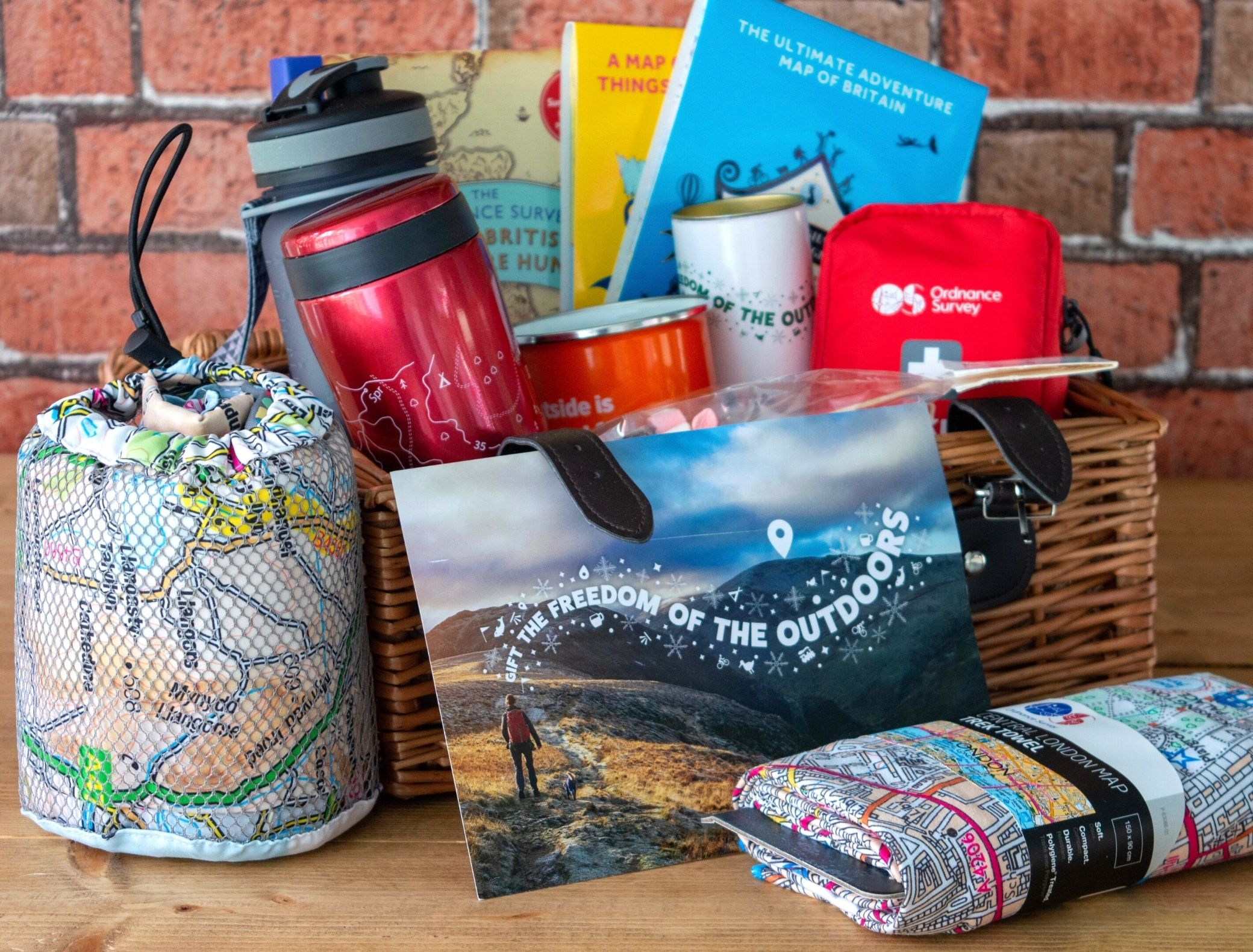 Ordnance Survey Gifts feature image